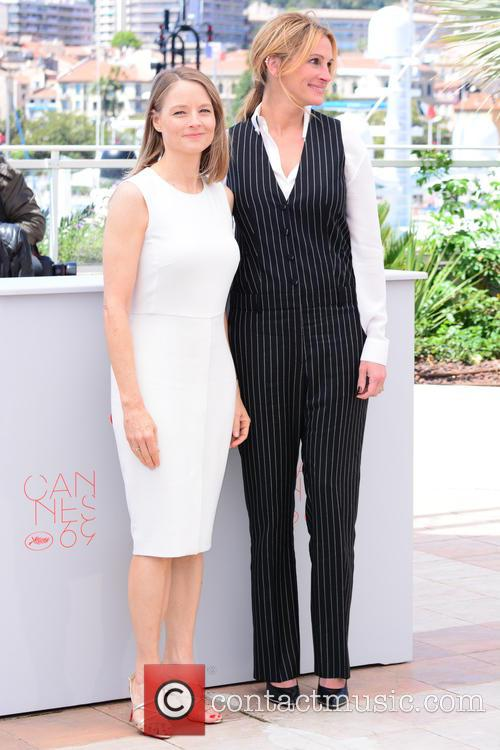 Jodie Foster and Julia Roberts