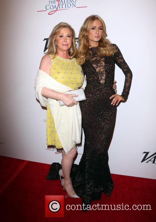 Kathy Hilton and Paris Hilton