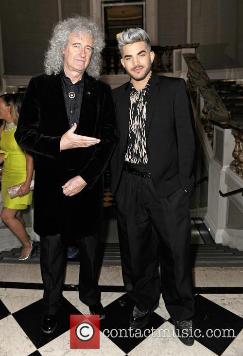 Brian May and Adam Lambert 3