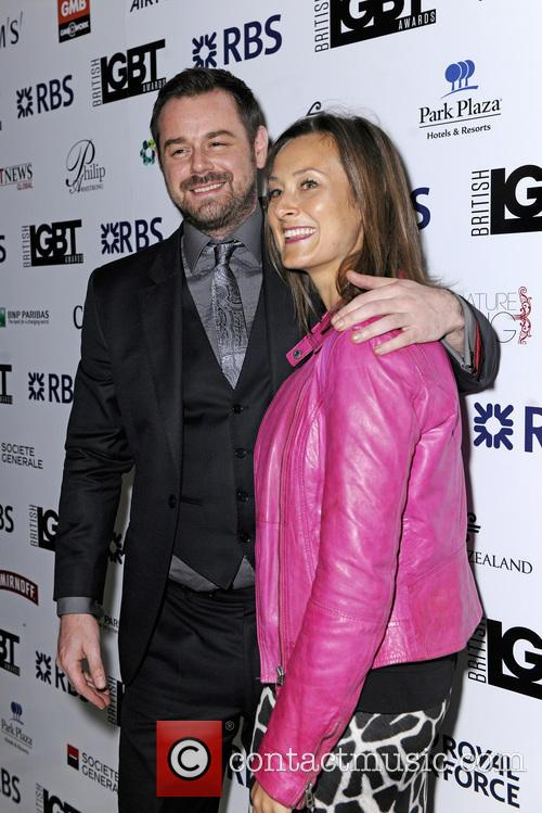 Luisa Bradshaw-white and Danny Dyer