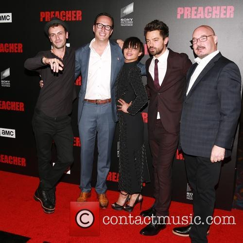 Joseph Gilgun, Ruth Negga and Dominic Cooper