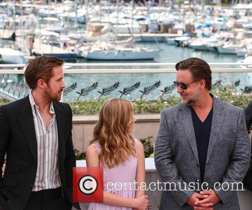 Ryan Gosling, Angourie Rice and Russell Crowe 3