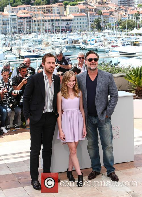 Ryan Gosling, Angourie Rice and Russell Crowe 5