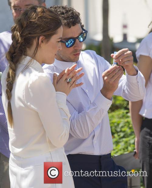 Shia Lebeouf and Riley Keough 11