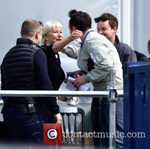 Anthony Mcpartlin, Declan Donnelly and Dame Helen Mirren 1