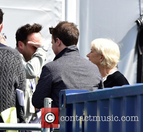 Anthony Mcpartlin, Declan Donnelly and Dame Helen Mirren 3
