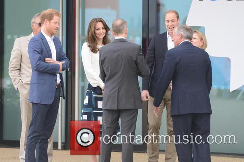Duchess Of Cambridge, Duke Of Cambridge and Prince Harry