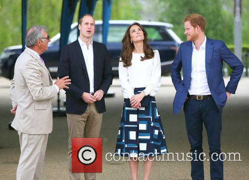 Prince William, Catherine Duchess Of Cambridge and Prince Harry 3