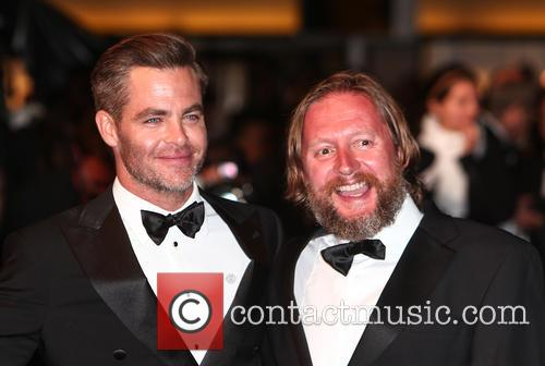 Chris Pine and David Mackenzie