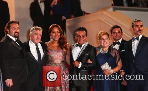Robert De Niro and Roberto Duran 9
