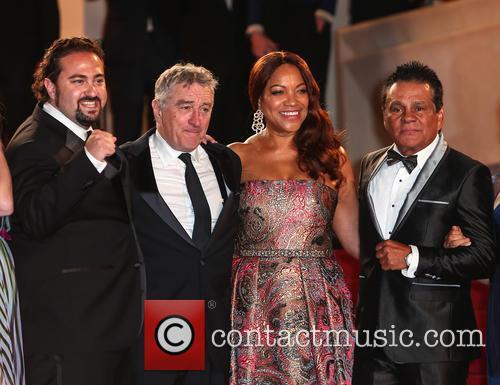 Robert De Niro and Roberto Duran 10