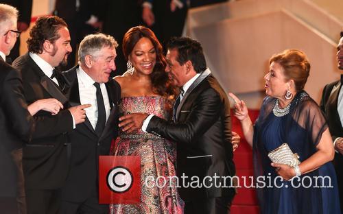 Robert De Niro and Roberto Duran 11