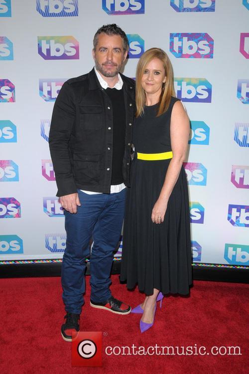 Jason Jones and Samantha Bee