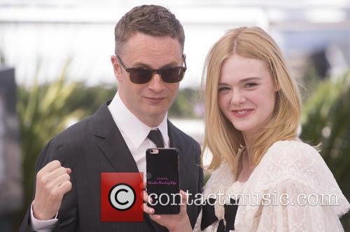 Nicolas Winding Refn and Elle Fanning