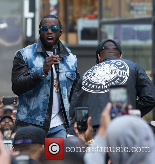 Sean Combs and Puff Daddy 5