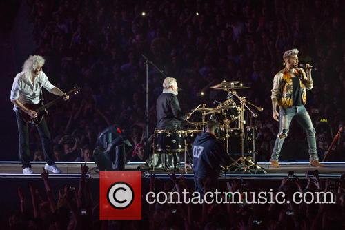 Adam Lambert, Brian May and Roger Taylor 3