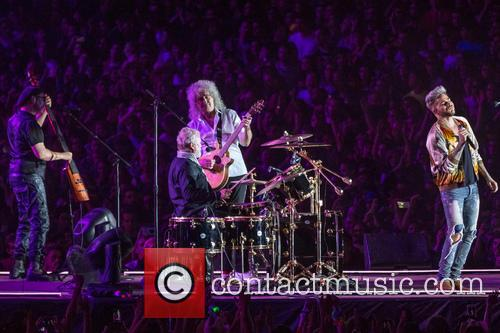 Adam Lambert, Brian May and Roger Taylor 6