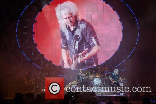 Adam Lambert, Brian May and Roger Taylor 10