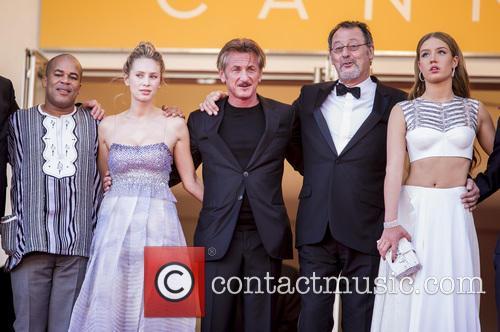 Dylan Frances Penn, Sean Penn, Jean Reno and Adele Exarchopoulos