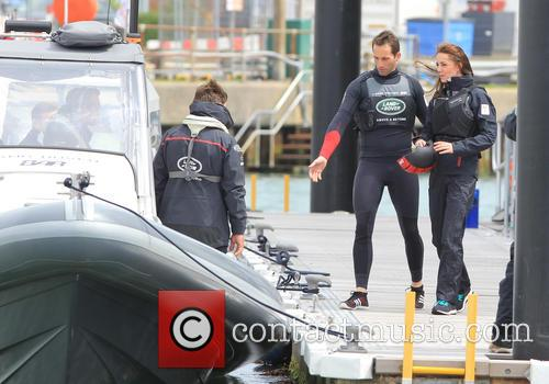 Sir Ben Ainslie, Catherine Middleton, Duchess Of Cambridge and Kate Middleton 3