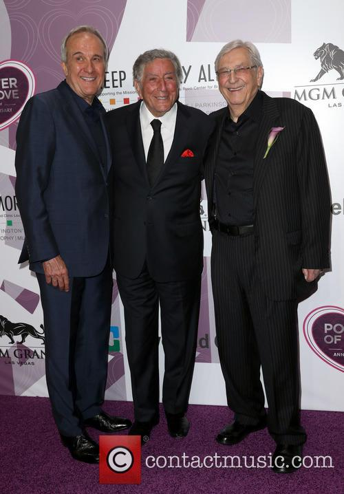 Larry Luvo, Tony Bennett and Bill Boyd 1