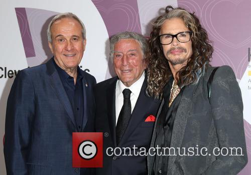 Larry Ruvo, Tony Bennett and Steven Tyler 6