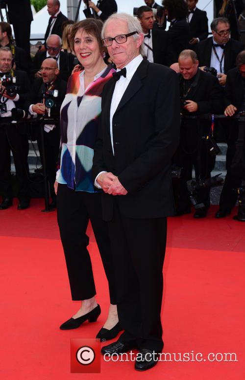 Ken Loach and Rebecca O'brien