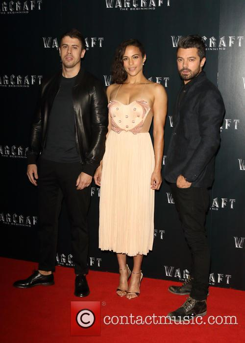Toby Kebbell, Paula Patton and Dominic Cooper