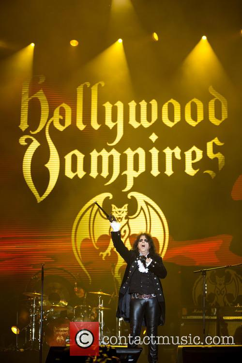 Alice Cooper and Hollywood Vampires