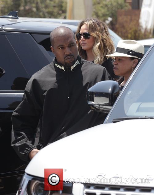 Kim Kardashian, Kanye West, Chrissy Teigen and John Legend 9