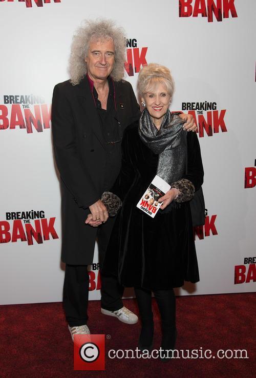 Brian May and Anita Dobson 1