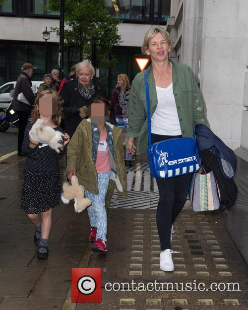 Zoe Ball, Nelly May Lois Cook and Woody Fred Cook 2