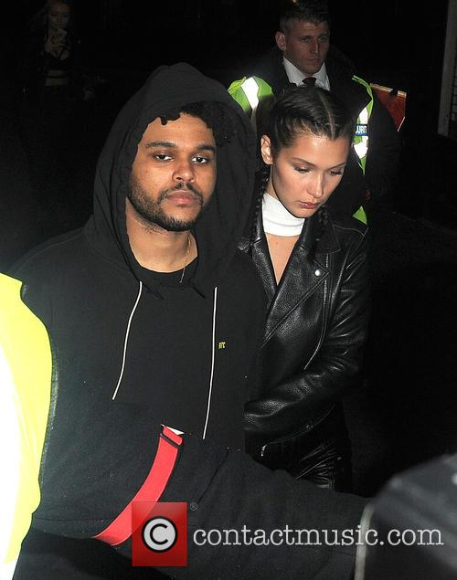 Bella Hadid and The Weeknd 4