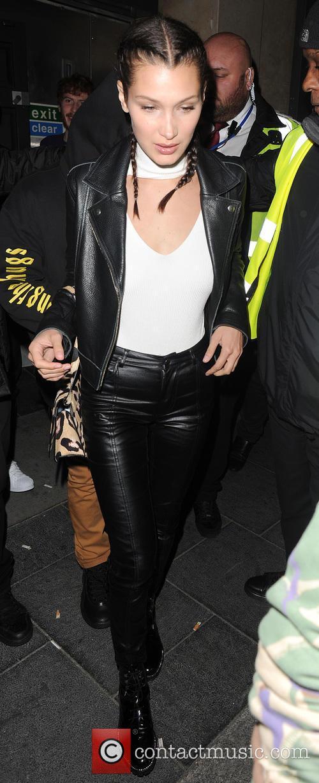 Bella Hadid, The Weeknd and Abęl Makkonen Tesfaye 2