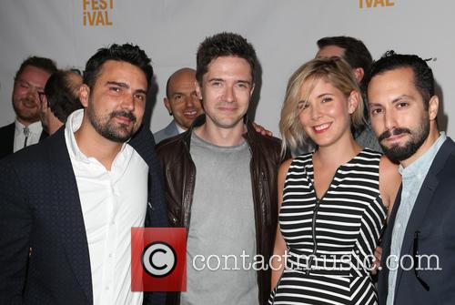 Daniel Posada, Topher Grace, Samantha Castellano and Jason Tamasco 5