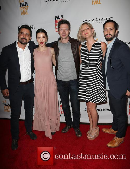 Daniel Posada, Topher Grace, Samantha Castellano, Jason Tamasco and Jessica Richards 6