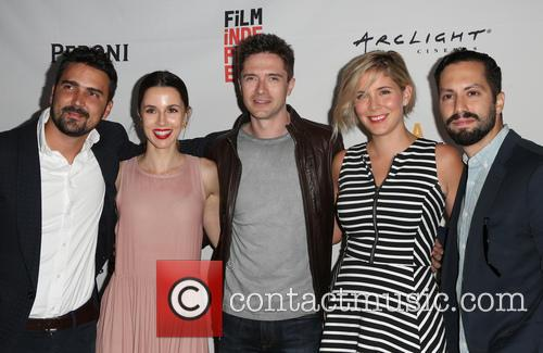 Daniel Posada, Topher Grace, Samantha Castellano, Jason Tamasco and Jessica Richards 10