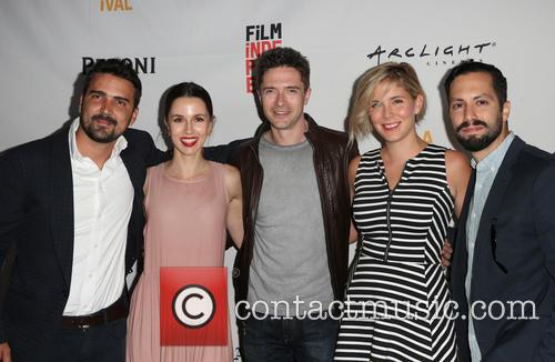 Daniel Posada, Topher Grace, Samantha Castellano, Jason Tamasco and Jessica Richards 11