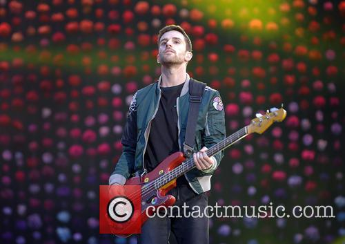 Coldplay and Guy Berryman