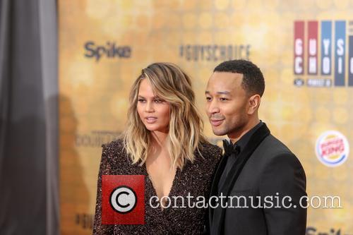Chrissy Teigen and John Legend 2