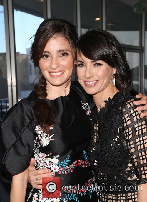 Shiri Abbleby and Constance Zimmer