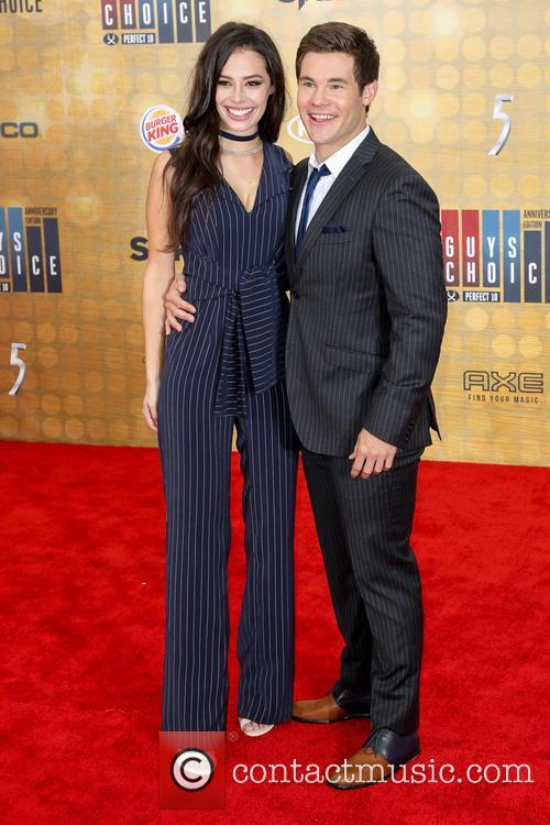 Chloe Bridges and Adam Devine 6