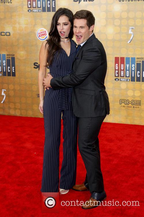 Chloe Bridges and Adam Devine