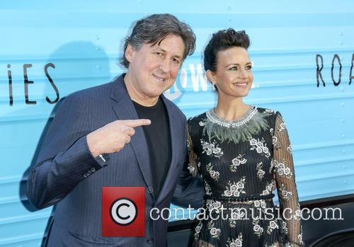 Cameron Crowe and Carla Gugino 2