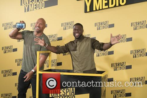 Kevin Hart and Dwayne Johnson 1