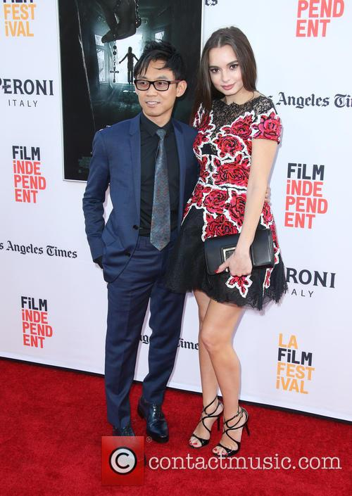James Wan and Ingrid Bisu 3