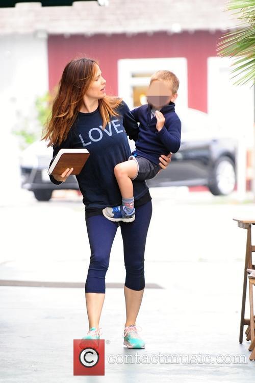 Jennifer Garner and Samuel Affleck 3