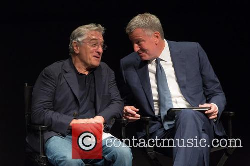 Robert De Niro and Bill De Blasio 2