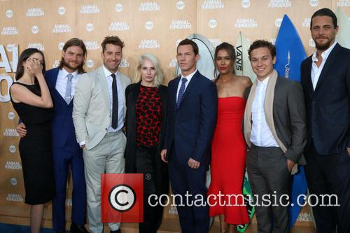 Jake Weary, Actress Molly Gordon, Actor Finn Cole, Actor Ben Robson, Scott Speedman, Ellen Barkin, Shawn Hatosy, Daniella Alonso and Animal Kingdom
