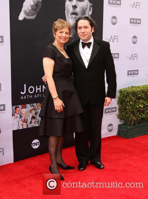 John Williams, Deborah Borda and Gustavo Dudamel 11